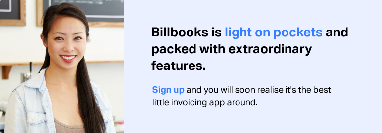 billbooks is light on pockets