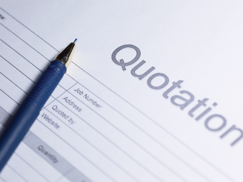 What is a Price Quote
