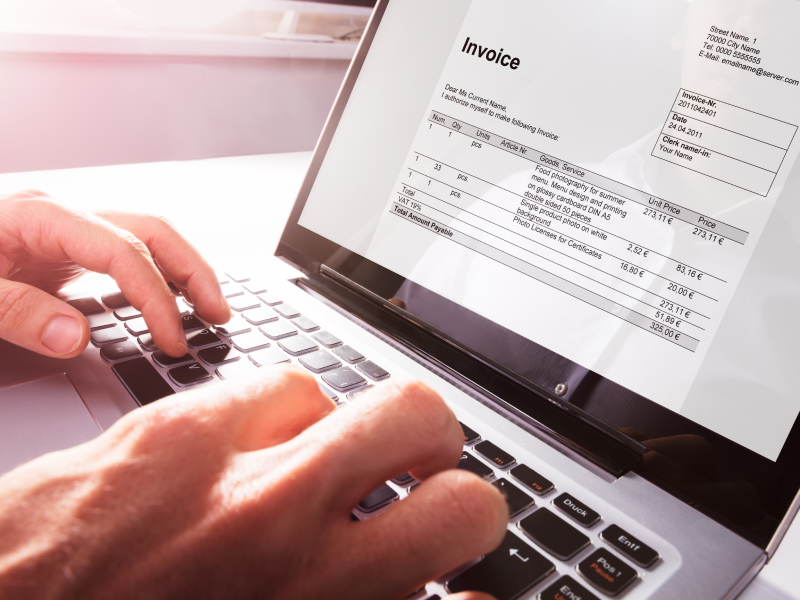 How to invoice as a sole trader