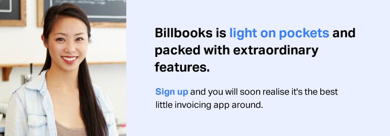 Billbooks sign up