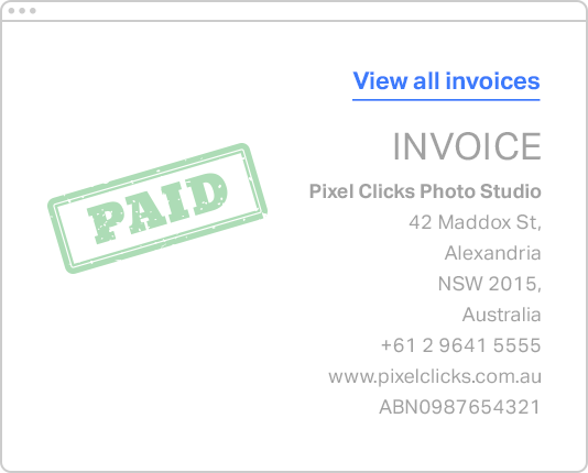 Smart invoicing feature 1